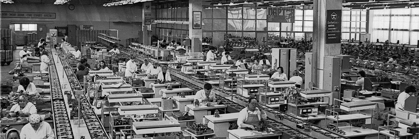 VEF employment at the factory